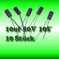 2 PCs Nichicon Elko ubw1h221mpd 220uf 50v 135 ° C 2000h 10x20mm rm5 New #bp