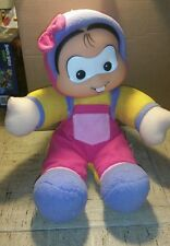 "TURMA DA MONICA BABY BRAZIL PLUSH DOLL 15"" GANG LOVEY BRAZILIAN MULTIBRINK"