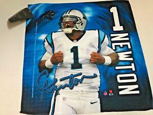 Carolina Panthers # 1 Cam Newton NFL WINCRAFT 16 X 16 Collector Towel