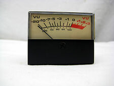 VU Meter 2.25 H x 1.75W x 1.75D inches - New, Free Shipping