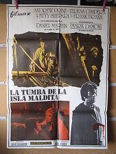 A474        LA TUMBA DE LA ISLA MALDITA TERROR ESPAÑOL
