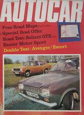Autocar magazine 2/4/1970 featuring Reliant Scimitar GTE, Ford, Hillman,Mercedes