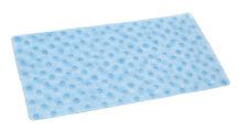 Badewannenmatte BADEWANNENEINLAGE Antirutschmatte Blau UNI  938 Rechteck