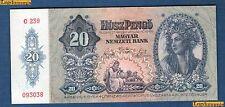 Hongrie - 20 Pengo 15-1-1941 Qualité SPL NEUF - Hungary