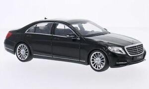 Mercedes S-Klasse (W222), schwarz, 1:24, Welly