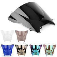 Front Windshield Windscreen Double Bubble for Yamaha YZF R6 600 98 99-01 02 ABS