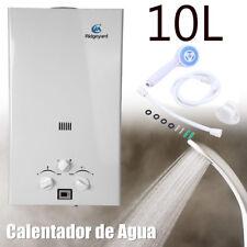 10L LPG Gas Calentador Eléctrico Acumulador de Agua de Ducha Cocina 2800Pa