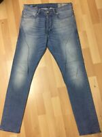 Mens Diesel TEPPHAR Stretch Denim 084CU BLUE Slim W29 L30 H6 RRP£150