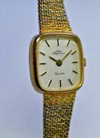 Vintage Jules Jurgensen Ladies Dress/Cocktail Watch, Gold Tone, Quartz (P/R)