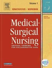 SHIPS DAILY # NEW W/CD  Medical-Surgical Nursing Critical Thinking Collaborative