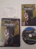 GALLOP RACER 2004 PLAYSTATION 2 PS2 TECMO HORSE RACING VIDEO GAME Complete