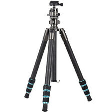 GIZOMOS Carbon Fibre Tripod with Ball Head for DSLR