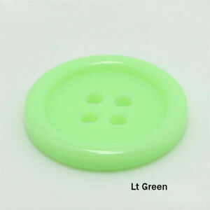 9-25mm Gift Buttons 100pcs Round Scrapbooking  Candy Sewing Color