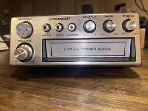 Pioneer Stereo 8-Track Tape Player Car Radio Classic Oldies