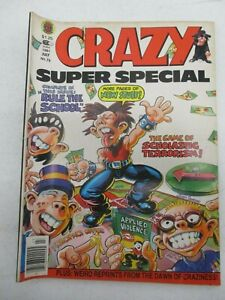 CRAZY SUPER SPECIAL MAGAZINE #76 JULY 1981 MASH MARVEL SPOOF SATIRE HUMOR FINE