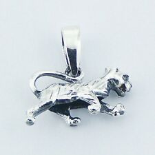Silver pendant Chinese Zodiac Tiger 925 sterling silver size 17mm x 15mm NEW