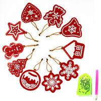 Diamond Painting Special Shape Rhinestones Xmas Ornament Christmas Tree Pendant