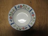"Nikko Japan AVONDALE Soup Cereal Bowl 6 1/8"" Blue Green 1 ea    3 available"