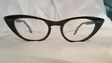 Bauch & Lomb Cat Eye Glasses Frames Rx Lenses Vintage MCM Geek Chic Sunglasses