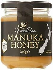 Queen Bee Manuka Honey 340g, 100+ Methylglyoxal, Product of New Zealand