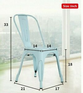 Metal Chair - New - Easy To Assemble