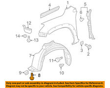 TOYOTA OEM-Fender Liner Splash Shield Screw 9015960215