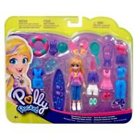 BCY75 Floral Fashion POLLY Polly Pocket 9.5cm Doll and Accessory