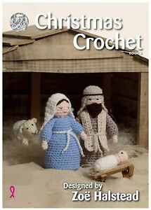 King Cole Pattern Book - Christmas Crochet Book 3