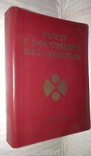 TUTTI I DOCUMENTI DEL CONCILIO UCIIM 1976 Religione Cattolica Chiesa Vaticano