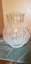 """Cristal D'Arques """"Longchamp"""" Clear Flower Vase"""