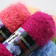 Lot 100g yarn Chunky Skin Fluffy Coral cashmere mink Knitting Crochet soft yarn