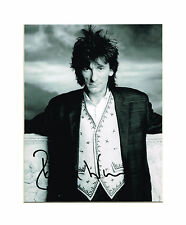Rolling Stones Faces Ronnie Wood Hand Signed Autographed 10 x 8 Mounted Picture