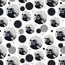 Headphone Chimp Monkey Wall Premium Gift Wrap Wrapping Paper Roll