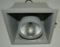 Nordic Light 220-1S-20W-I-120V Recessed HID Luminaire Downlight, Grey, 20W, NEW