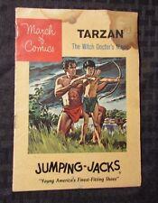 1962 March of Comics TARZAN #240 GD Jumping-Jacks Shoes PROMO