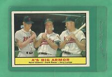 1961 Topps A's Big Armor # 119 NM+ Low Pop !!!!