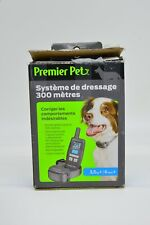 Premier Pet 300 Meter/Yard Remote Dog Trainer w/ Tone/Beep + Vibration & Collar