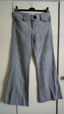 Tweed Pantalones Tamaño 8