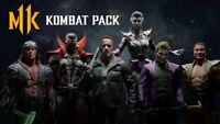 Mortal Kombat 11 Kombat Pack DLC | Steam Key | PC | Worldwide