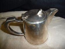 Silver plated  tea pot MAPPIN & WEBB 1 pint 4/66 GAB RR ORIENT LINE
