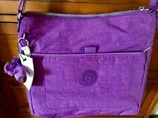 Kipling HB6913 Brendy Hobo Crossbody Messenger Bag  - Violet Purple NWT