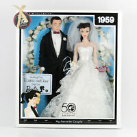 2009 Wedding Day Barbie and Ken Gift Set 50th Anniversary 1959 Repro