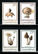 SELLOS SETAS LUXEMBURGO 1991 1217/20 4v.