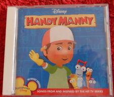 CD. Handy Manny/ Disney/ Songs from hit TV  /12 Tracks CD / Made in Australia