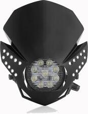Acerbis Fulmine LED Enduro Dirt Trail Bike Headlight Black