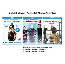 An Idiot Abroad, Complete Series 1 2 & 3 (Blu-Ray, All Episodes, New & Sealed)