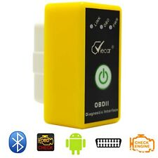 ELM327 Bluetooth OBDII Auto Diagnostic Wireless Scanner Tool iPad iPhone Android
