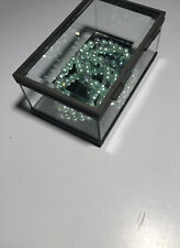 Very Simple And Pretty oblong beveled glass tinkerbox