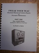 Illustrated Teac Repair Manual, Teac A-4010 Series