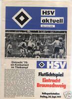 BL 76/77 Hamburger SV - Eintracht Braunschweig